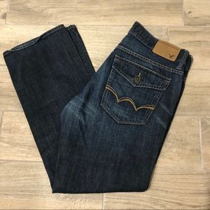 American Eagle 34/32 Low Rise Boot Cut Jeans